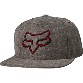 Fox Instill Snapback Cap Heren, grey/red